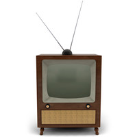 Retro 70s Television