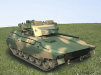 type 89 fighting vehicle 3d model