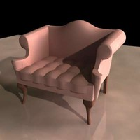 3d old style seat model