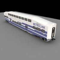 3d metrolink train