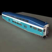 3ds san bombardier passenger train