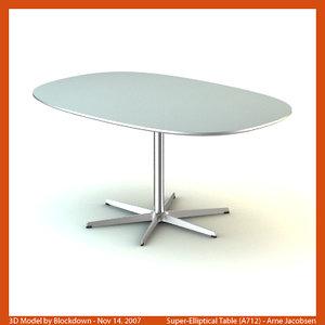 max arne jacobsen table