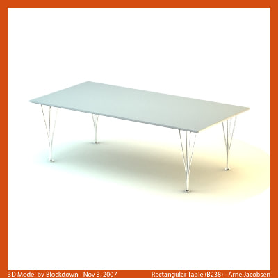max arne jacobsen table
