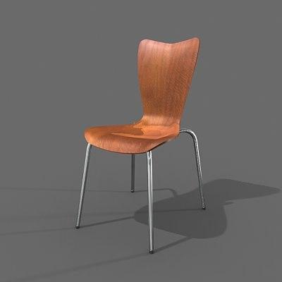 maya design wood chair
