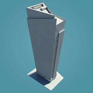 obj square tower