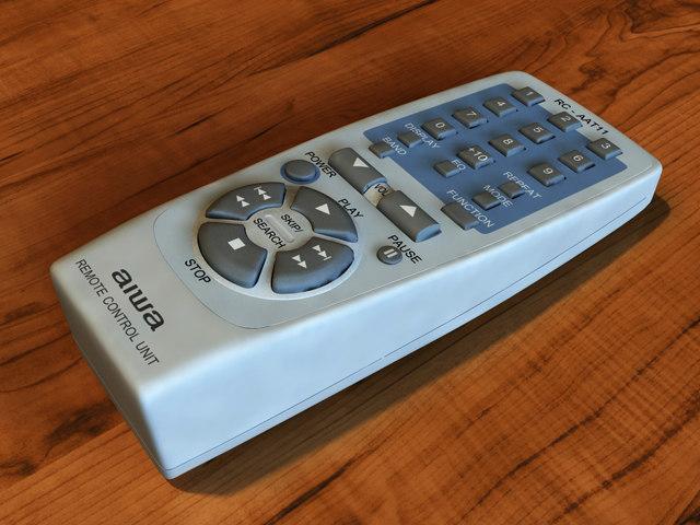 Remote Control Aiwa