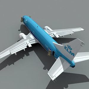 3d 737-300 klm model