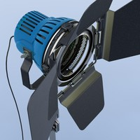 3d model of arri lite 800 studio