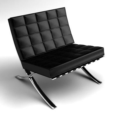 max barcelona lounge chair