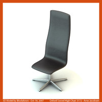 3d arne jacobsen swivel