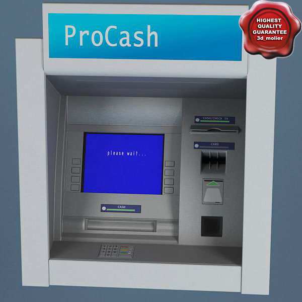lwo atm machine procash 2050