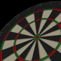 3d obj dart board