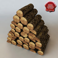 obj firewood modelled
