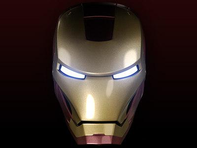 obj ironman head
