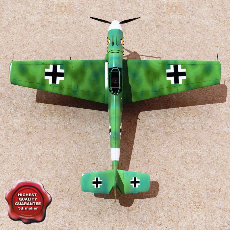 3d messerschmitt 109