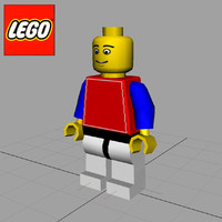 Lego MiniFig Character