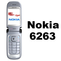 3d model nokia 6263 cell phone
