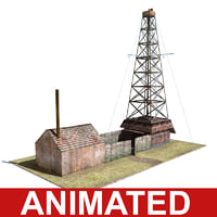 Low-impact oil/gas drilling complex