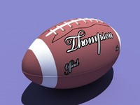3ds max american football