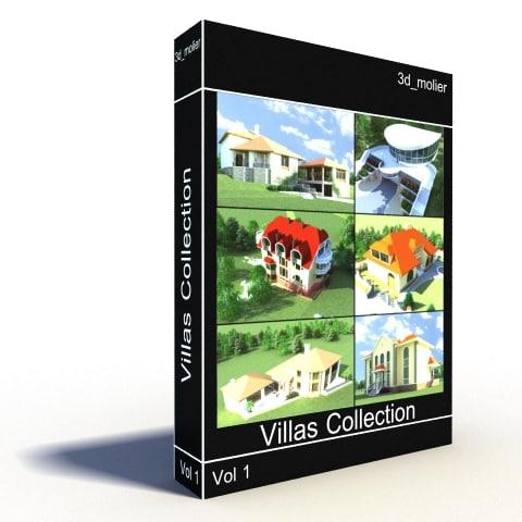 villas vol1 3d model