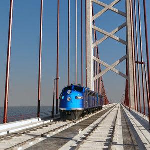 3d bridge train emd model