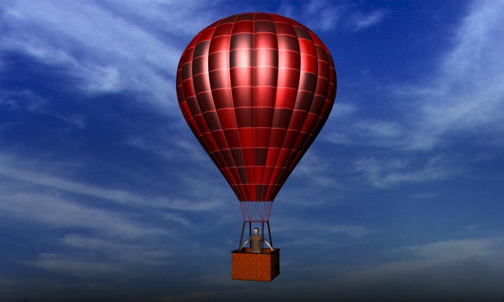 free 3ds model balloon
