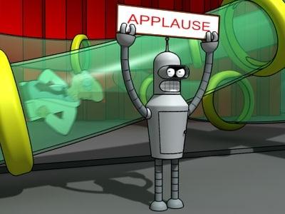 robot bender 3d 3ds