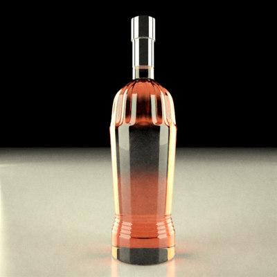 lightwave alcohol bottle