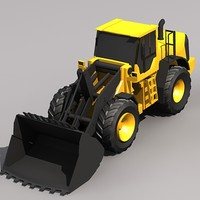 Low Poly L220F Wheel Loader.MAX