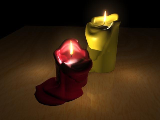 candle 3d ma