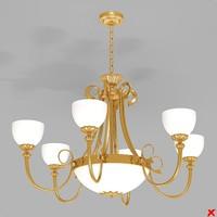 3ds max chandelier lamp