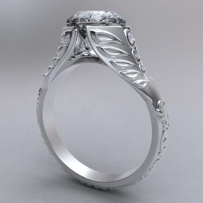 maya organic ring diamonds