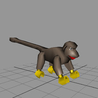 3ds max lego monkey