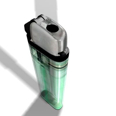3d cigarette lighter