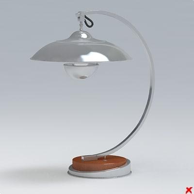lamp office 3d model