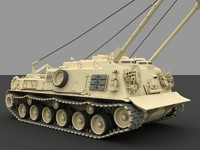 M88A1 Medium Recovery Vehicle