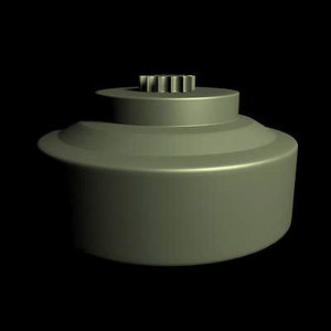 mine landmine 3d model