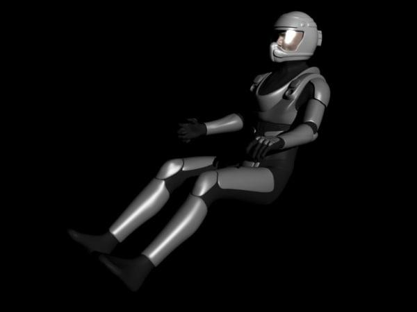 pilot spacesuit blend