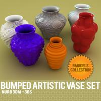 3d vase design model