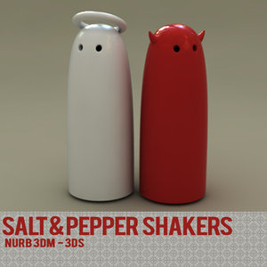 salt shaker pepper 3ds