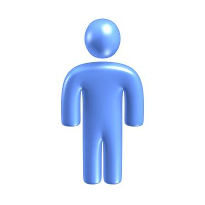 max simple plastic figure