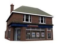 3d model shop building