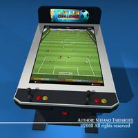 3d videogame arcade