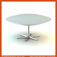 AJ Super-Circular Table 145x145x70 A805