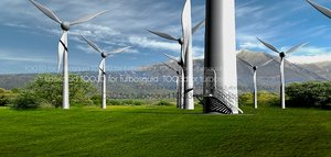 windmill tower eolic 3d model