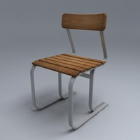 3ds max breuer chair