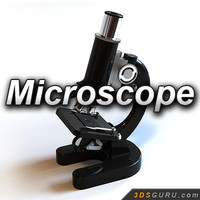 3d microscope model