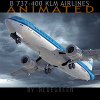 Boeing 737-400 KLM (A)