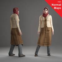 3d model axyz human