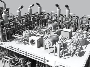 refinery unit 2 3ds